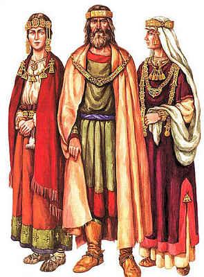 Древнерусский женский костюм